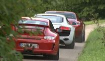SLS AMG, R8 und GT3 (Screenshot: Car News)