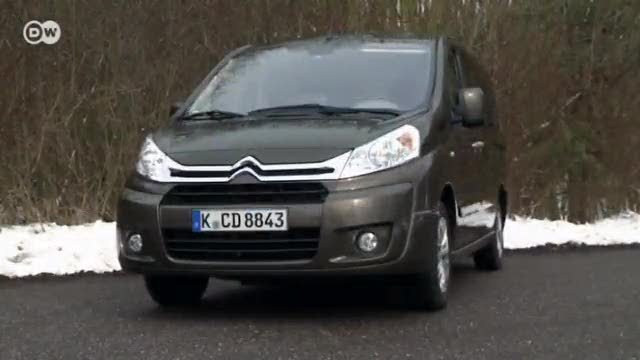 Der Citroën Jumpy Multispace (Screenshot: Deutsche Welle)