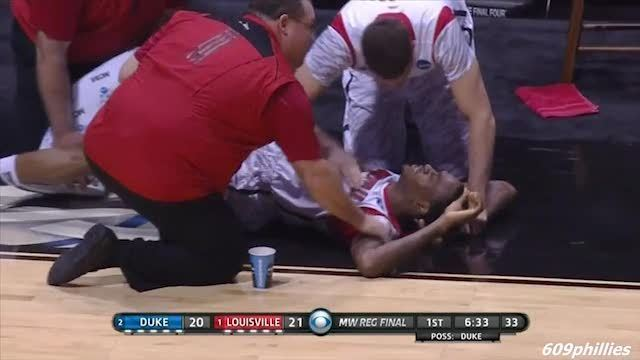 College-Basketballer Kevin Ware (Screenshot)