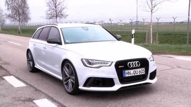Neuer Audi RS6 (Screenshot: mdw-online)