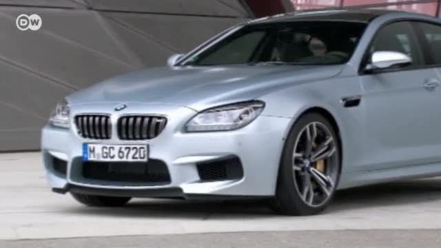 BMW M6 Coupé im Test (Screenshot: Deutsche Welle)