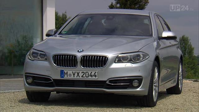 5er BMW bekommt ein Facelift (Screenshot: United Pictures TV)
