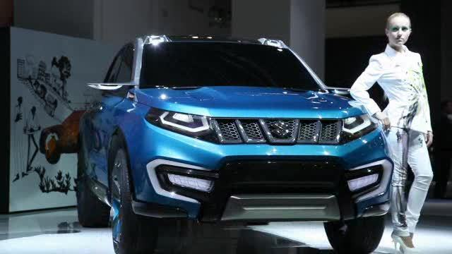 IAA 2013: Suzuki präsentiert SUV-Studie iV-4 (Screenshot: Car News)