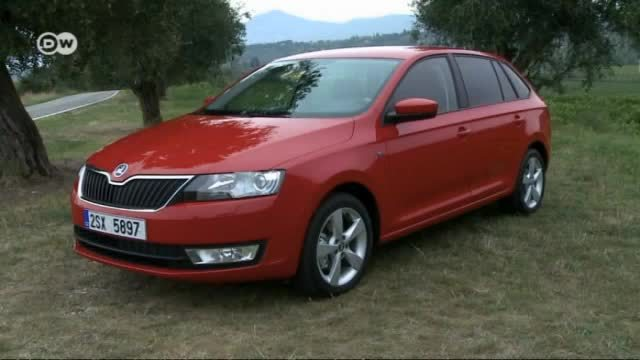skoda rapid spaceback im test video. Black Bedroom Furniture Sets. Home Design Ideas
