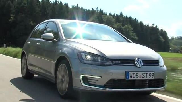 VW Golf GTE – Elektroauto und Sportwagen (Screenshot: United Pictures)