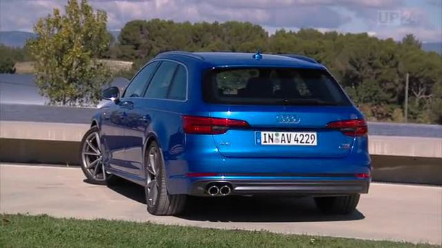 Neuer Audi A4 Avant im Test. (Screenshot: United Pictures)