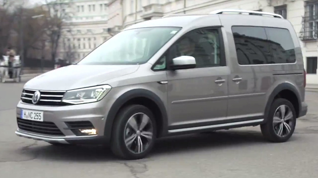 VW Caddy Alltrack TDI 4Motion im Test. (Screenshot: Die Autotester)