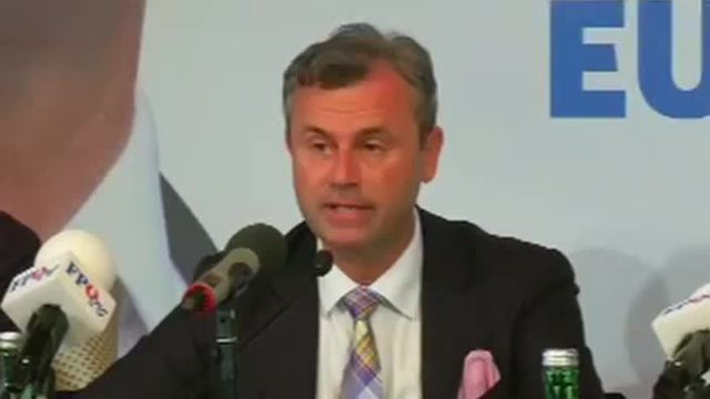Norbert Hofer, FPÖ. (Quelle: Reuters)