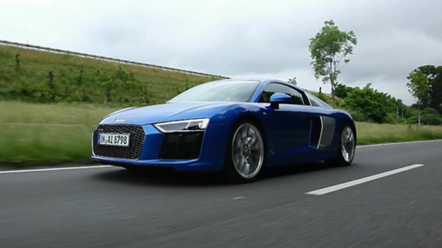 "Supersportler: Audi R8 V10 – ""Schön skurril"". (Screenshot: car-news.tv)"