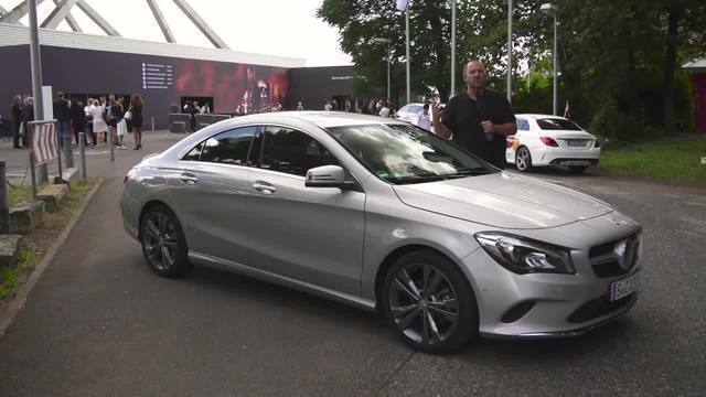 Mercedes CLA auf der Mercedes-Benz Fashion Week. (Screenshot: News2Do)