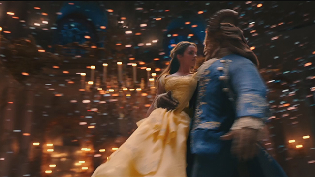 Emma Watson spielt in dem Remake des Disney-Klassikers mit. (Screenshot: Disney)