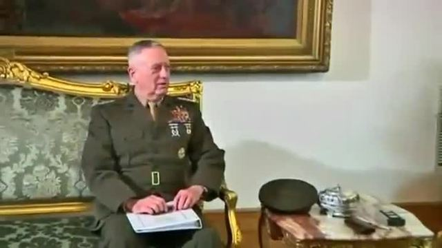 Trump will Ex-General Mattis als Verteidigungsminister. (Screenshot: Reuters)