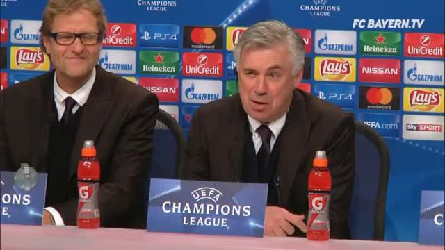 Ancelotti: Lewandowski wegen Baby so motiviert. (Screenshot: Omnsiport)