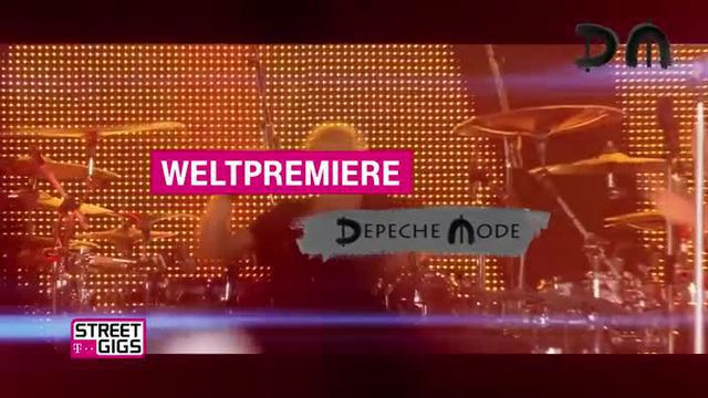 Depeche Mode geben exklusives Konzert in Berlin.