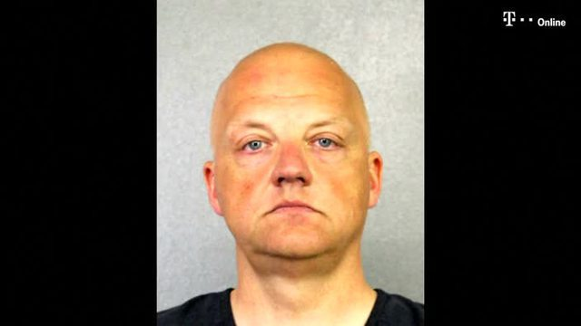 Ex-Volkswagen-Manager Oliver Schmidt. (Screenshot: Broward County Sheriff's Office / Reuters)